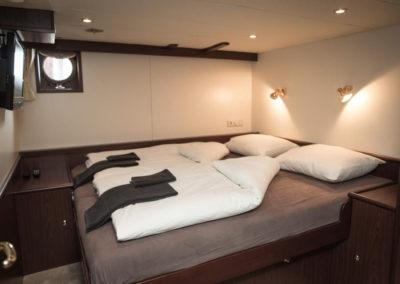 Doppelbett Kabine