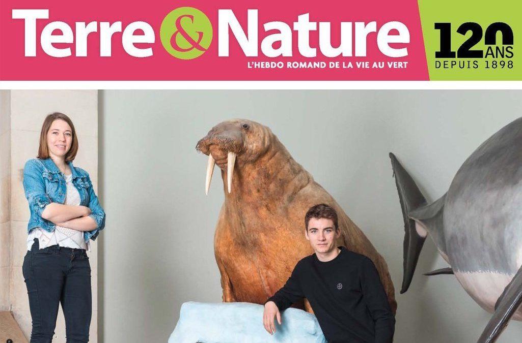 """Terre & Nature: """"Deux Romands mettent le cap sur le pôle Nord"""""""