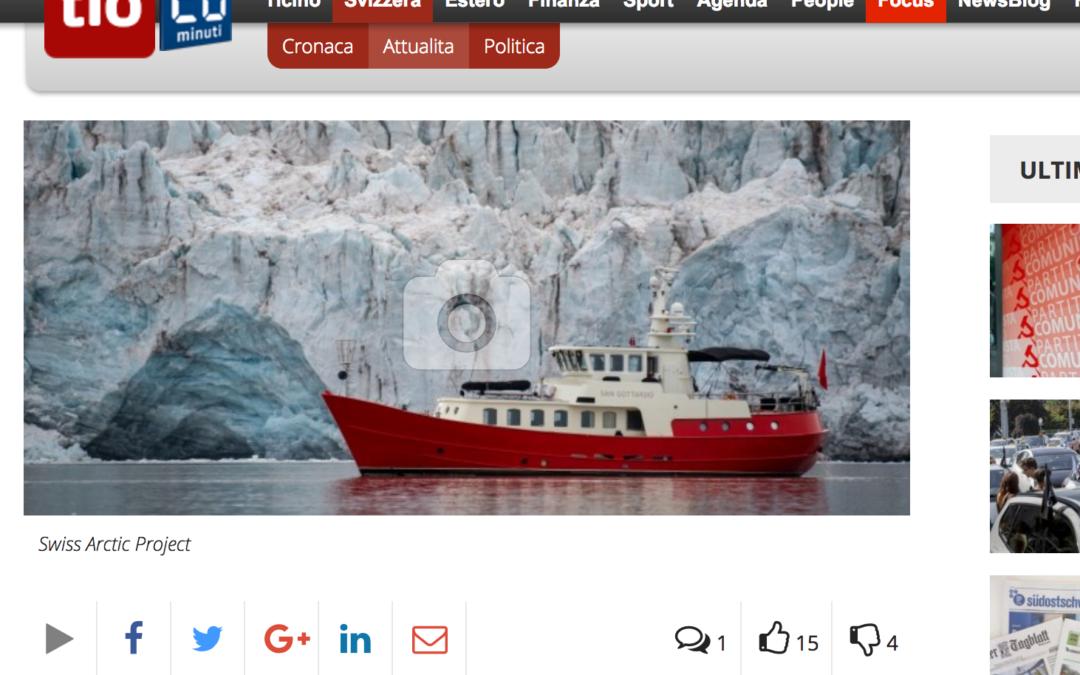 """20 Minuti: """"Ecco la spedizione che ti porta al Polo Nord"""""""