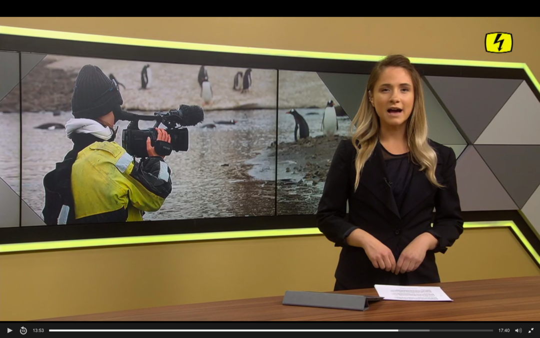 "Tele Top: ""Junge Fehraltorferin reist mit dem Swiss Arctic Project ins ewige Eis"""