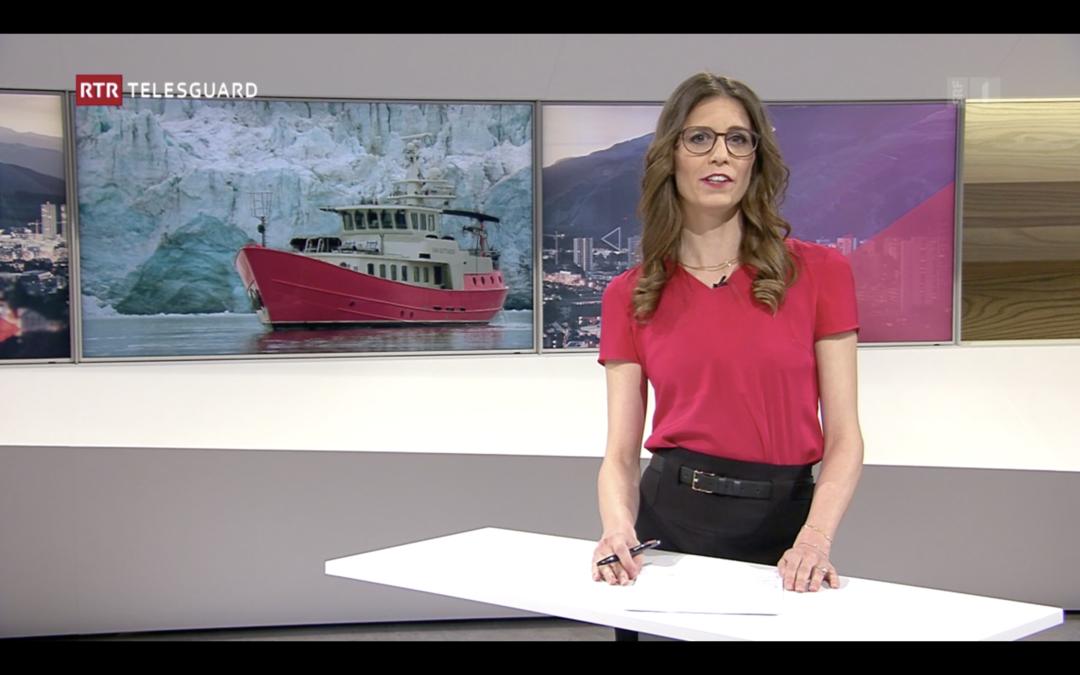 """RTR TV: """"Expediziun en l'Arctica"""""""