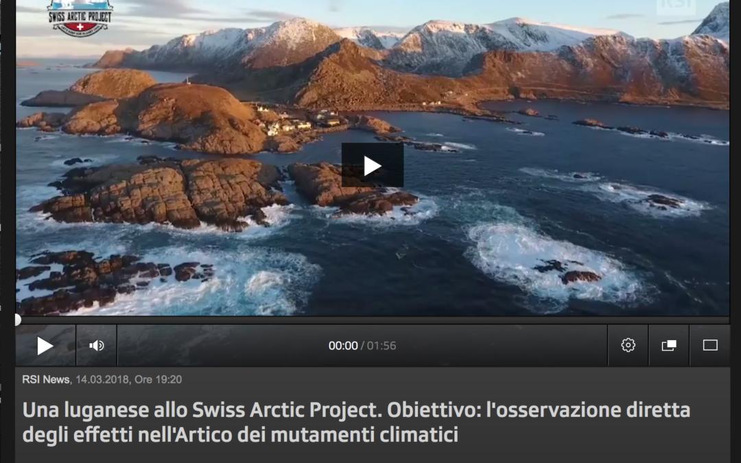 """RSI: """"Una ticinese al Polo Nord"""""""