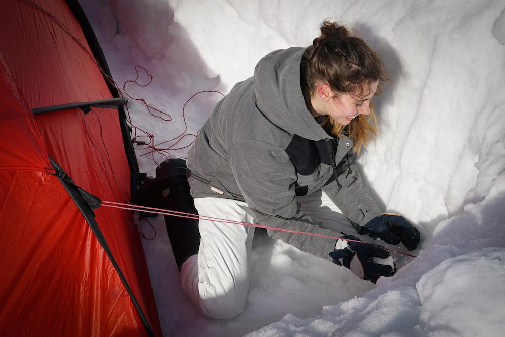 SWISS ARCTIC PROJECT CAMPO DI PREPARAZIONE A LENZERHEIDE