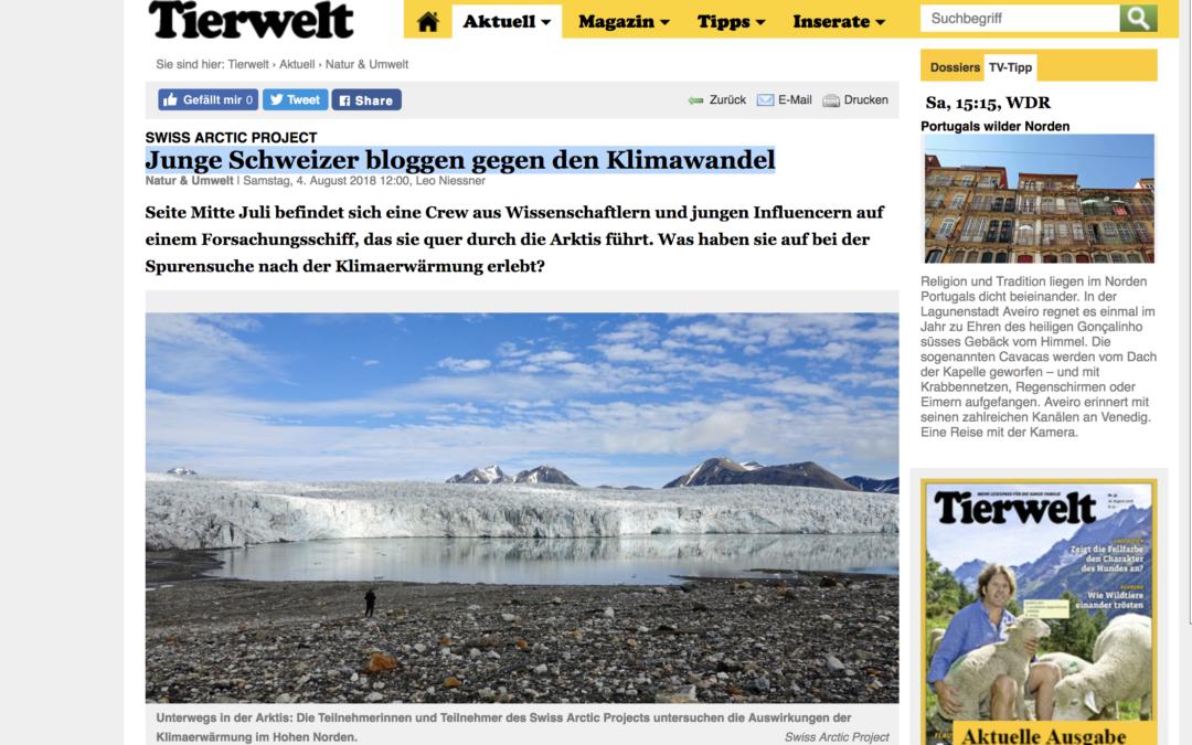 """Tierwelt: """"Junge Schweizer bloggen gegen den Klimawandel"""""""