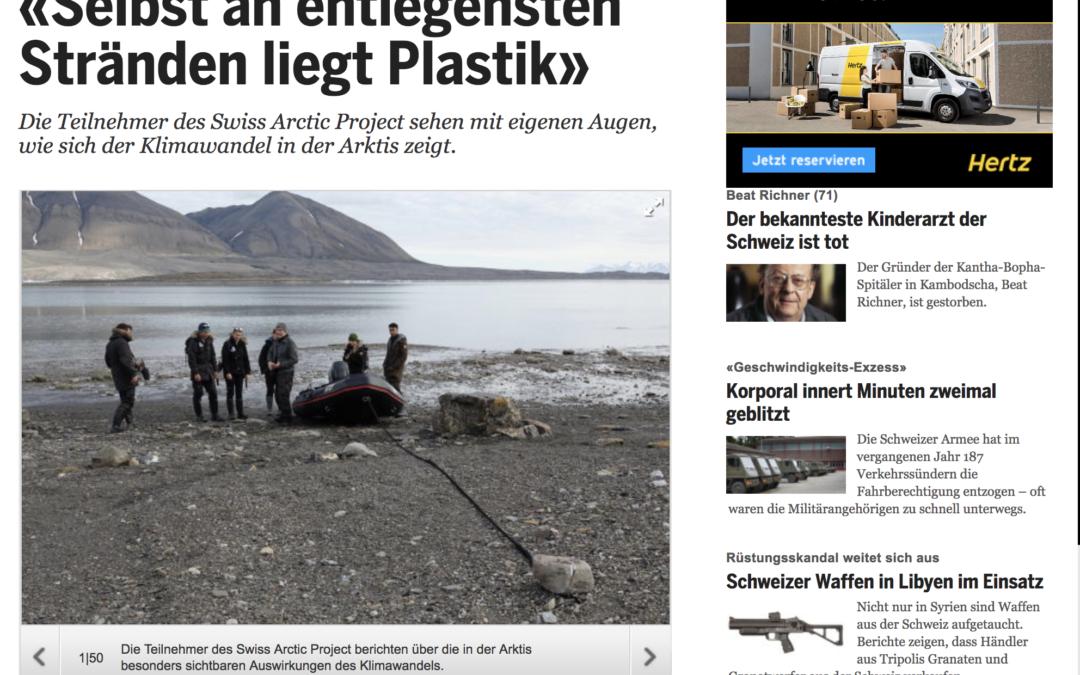 20 Minuten: «Selbst an entlegensten Stränden liegt Plastik»