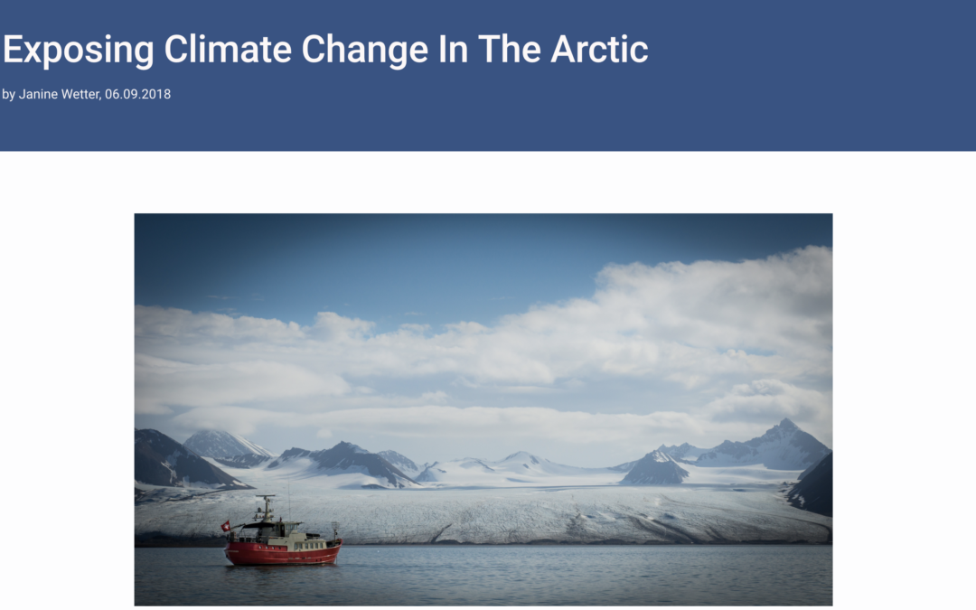 "ETH Zürich: ""Exposing Climate Change In The Arctic"""