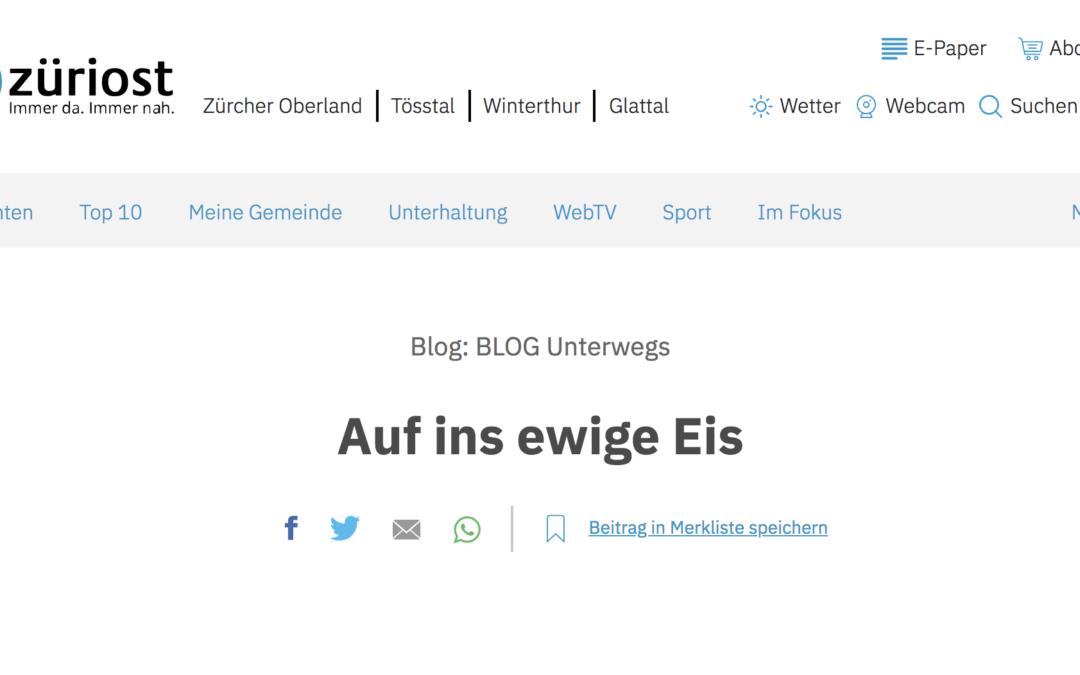 """züriost: """"Auf ins ewige Eis"""""""