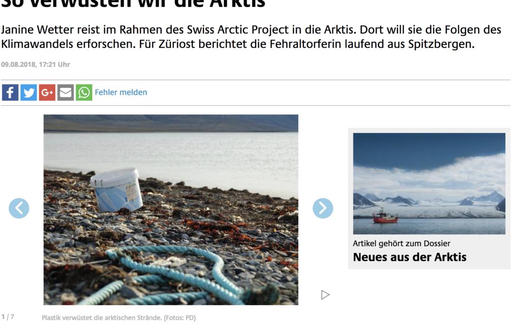 """züriost: """"So verwüsten wir die Arktis"""""""