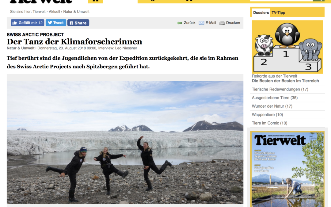 """Tierwelt: """"Der Tanz der Klimaforscherinnen"""""""