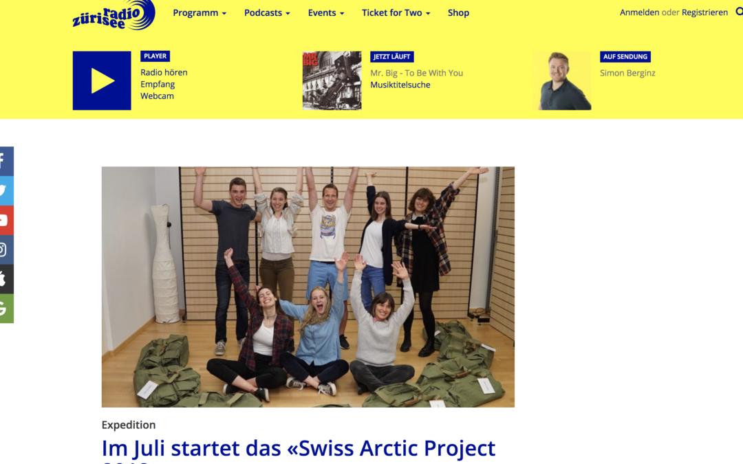 """Radio Zürisee: """"Im Juli startet das «Swiss Arctic Project 2018»"""""""