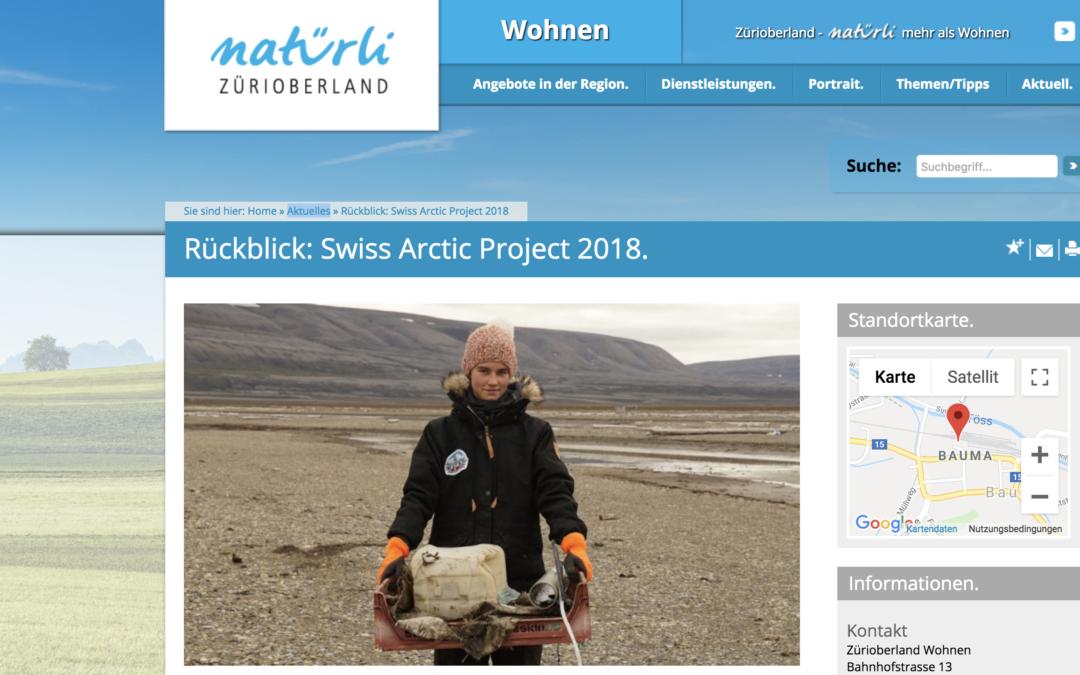 "Natürli Zürioberland: ""Rückblick: Swiss Arctic Project 2018"""
